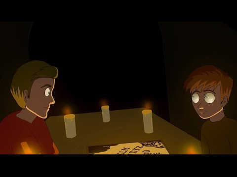 Scary Ouija Board Stories Animated