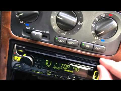 Kenwood HD Head unit upgrade Volvo s70 v70 summary