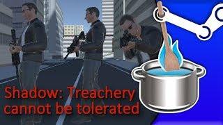 Anomalie gotowane na parze - Przypadek Shadow: Treachery cannot be tolerated