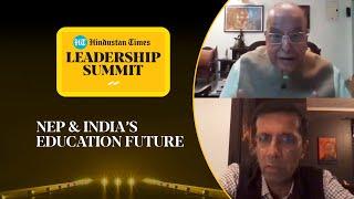 Covid, NEP & educating India: Dr Kasturirangan & Ashish Dhawan l #HTLS 2020