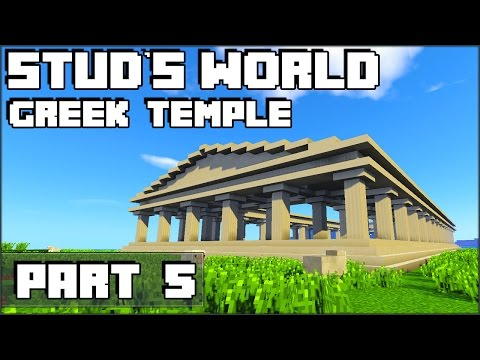 Minecraft Greek Temple - Stud's World - 97