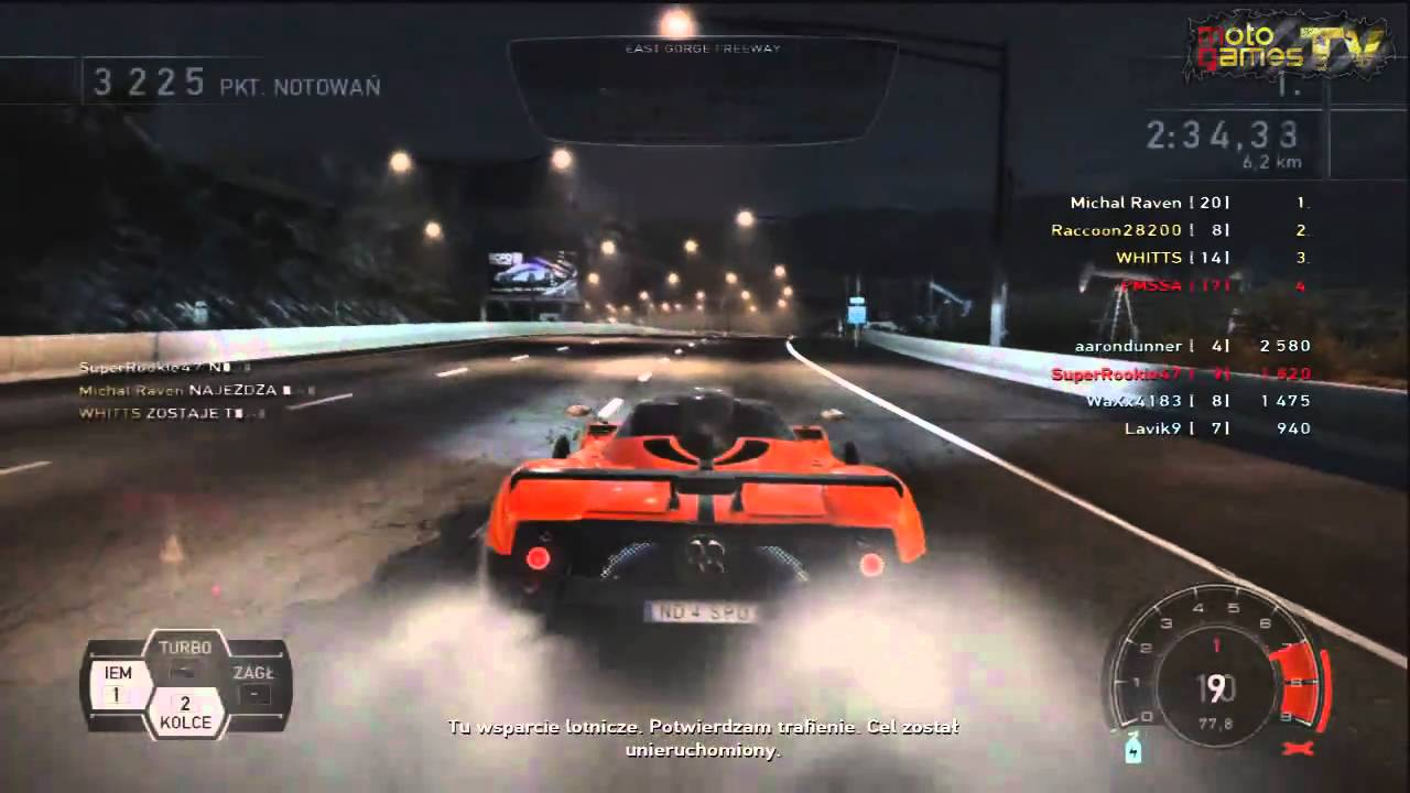 Need For Speed Hot Pursuit Xbox 360 8 Players Online Hot