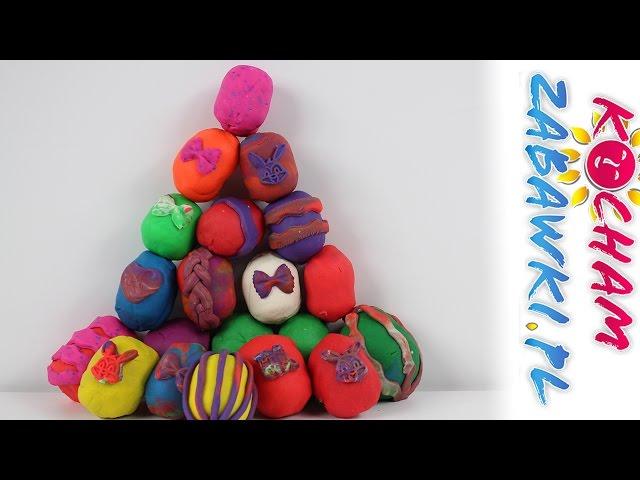 Świąteczne Jajka - Kinder Niespodzianka & Lego & Play-Doh & Disney - Unboxing