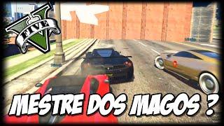 GTA V - O MESTRE DOS MAGOS? - QUE LOUCURA - WALLRIDE/SPIRAL GTA V ONLINE
