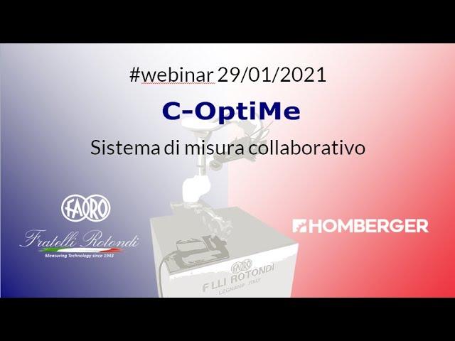 C-OptiMe  - Sistema di misura con robot collaborativo by Fratelli Rotondi Srl