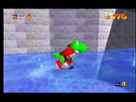 <b>Gameshark code</b>: <b>Mario</b> rides Yoshi in <b>Super Mario 64</b> - YouTube