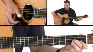 Fingerpicking Pattern  - Double Pinch - Brooks Robertson Guitar Lesson
