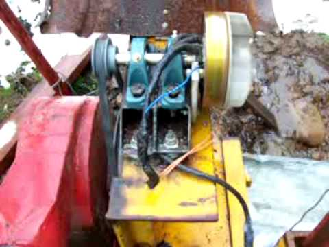 Crossflow Banki water turbine