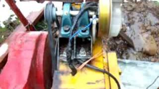 Crossflow Banki water turbine