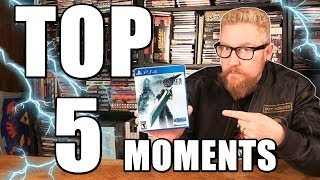 FINAL FANTASY VII REMAKE TOP 5 MOMENTS - Happy Console Gamer