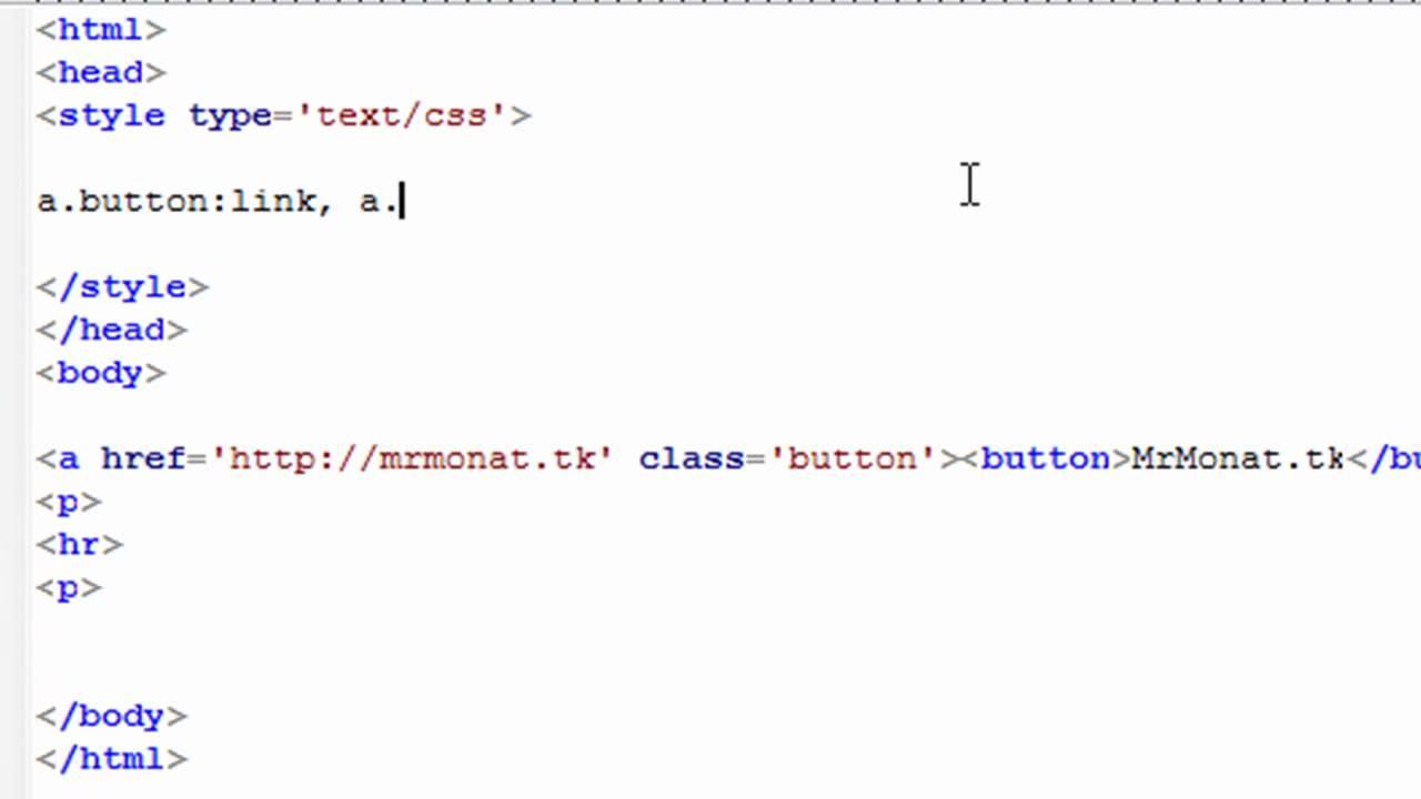 HTML Button erstellen   YouTube