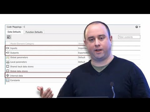 Embedded Coder Data, Function, and File Customization - Coder Summit 2018