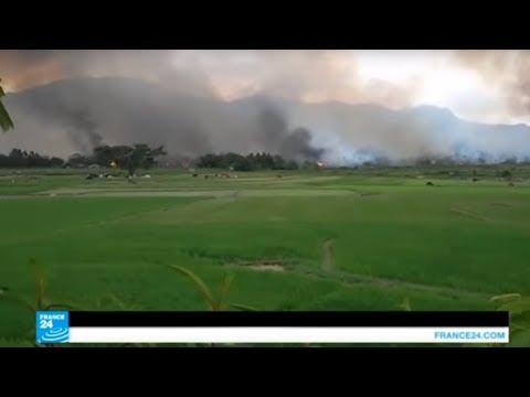من أحرق نحو من 2600 منزل في بورما.. الروهينغا المسلمون أم جيش بورما؟