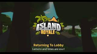 [Raw Version] 😱QUAD XP! Island Royale Beta Gameplay 2 (Roblox)
