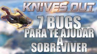 7 Bugs para te ajudar a sobreviver no Knives Out!!