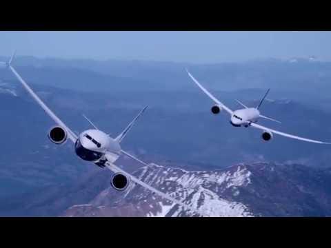Потрясающее видео Boeing.