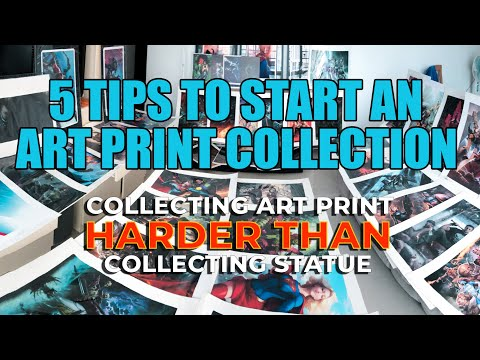 5 TIPS TO START AN ART PRINT COLLECTION