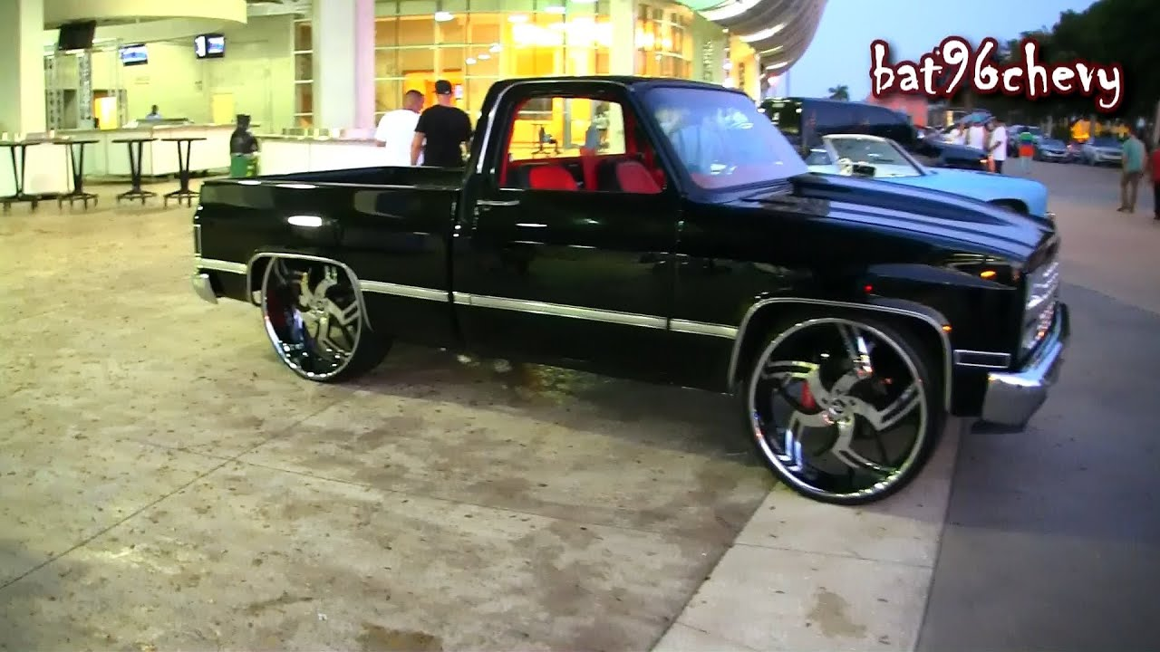 "Short Bed Chevy C10 Silverado Truck on 28""/30"" Amani ..."