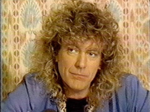 Robert Plant Montreal Press Conference 1988 (Good Rockin Tonite)
