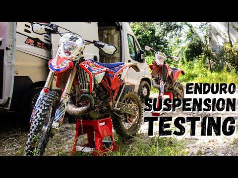 ENDURO SUSPENSION TESTING
