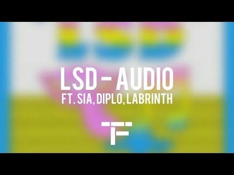 [TRADUCTION FRANÇAISE] LSD - Audio Ft. Sia, Diplo, Labrinth