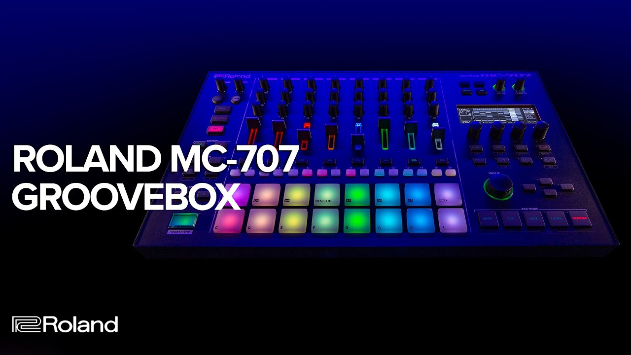 Roland Introduces MC-707 and MC-101 GROOVEBOXES