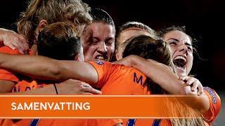 Highlights België - Nederland (24/7/2017)