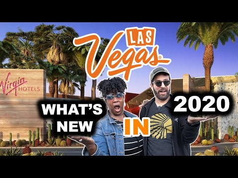 Las Vegas 2020 | Top New Things Coming to Town + Virgin Hotels Las Vegas