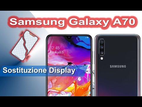 Samsung Galaxy A70 sostituzione display