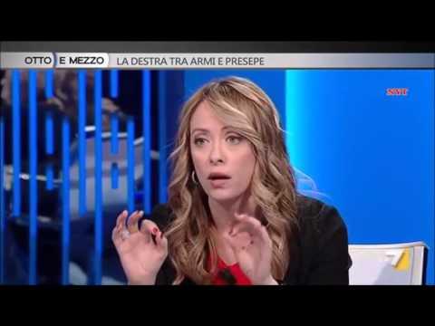 TRAVAGLIO VS MELONI SALVINI E DESTRA ITALIANA