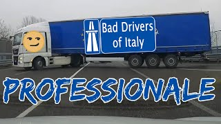 BAD DRIVERS OF ITALY dashcam compilation 11.20