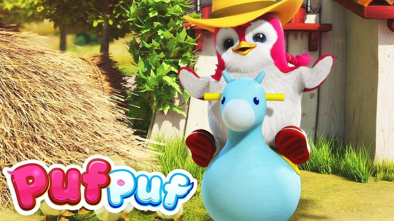 Download Pinguinii au o fermă - Cântece ritmate pentru copii Puf Puf