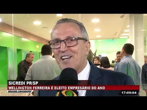 Wellington Ferreira Do Sicredi é Eleito Empresário Do Ano