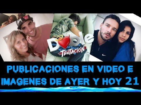 DOBLE TENTACIÓN ALGUNOS VIDEOS E IMAGENES PUBLUCADAS HOY VIERNES 21/04/2017 POR LOS CHICOS DT
