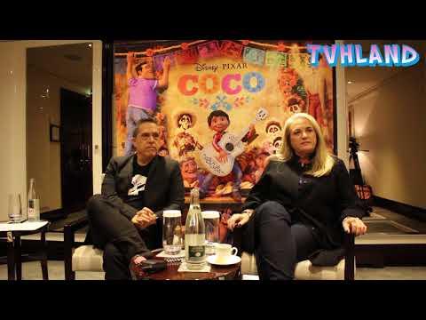Coco Disney Pixar: Interview With  Lee Unkrich And Darla Anderson At Paris
