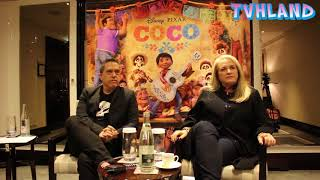 Coco Disney Pixar: Interview With  Lee Unkrich And Darla Anderson At Paris