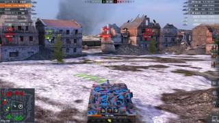 WoT Blitz || FV215b 183 - 8400+ DMG