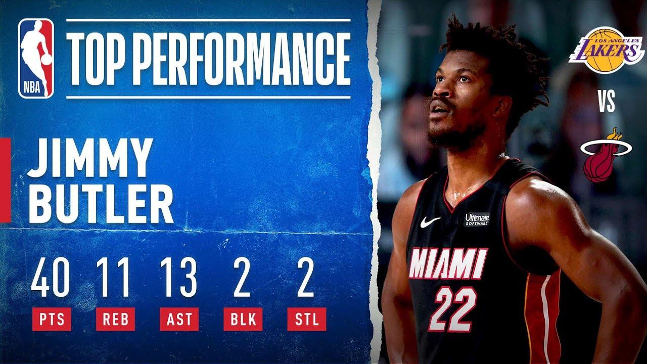 Jimmy Butler's MONSTER 40-PT Triple-Double in Game 3 ????    #NBAFinals