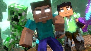 Annoying Villagers Fight Minecraft Animation