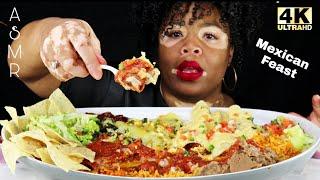 MEXICAN FEAST | ASMR | NO TALKING | BIG BITES | REAL EATING SOUNDS Mmm ASMR