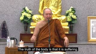 """Walk the Path of Wisdom"" Venerable Pramote, Dhamma Talk"