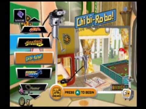 GCN Interactive Multi-Game Demo Disc Version 34 (Trailers)