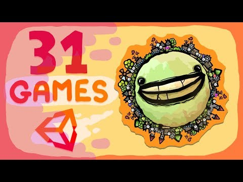 What I learnt by making 30+ GAMES in UNITY !