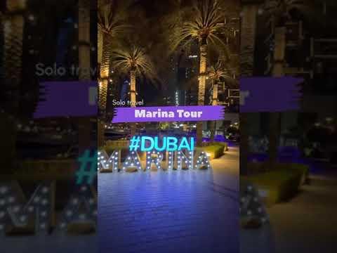 Dubai Marina view 2021 || Cruise Ride || Solo Travel || Top Tourist Destination || #Vlog #expo2020