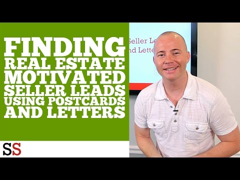Finding Real Estate Motivated Seller Leads Using Postcards