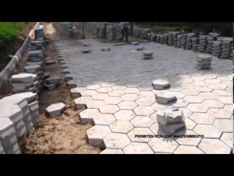 Protecbol loseta hexagonal youtube - Baldosas hexagonales ...