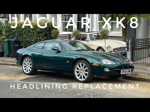 Jaguar XK8 – Headlining Replacement