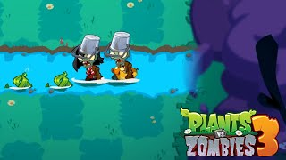Plants vs Zombies 3 - Gameplay Walkthough Levels 31-36 New Plant Tangle Kelp