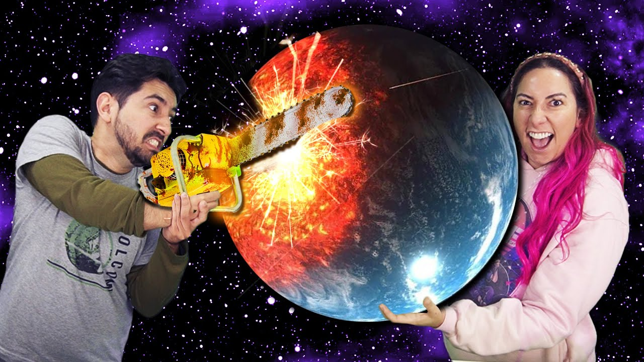 SIMULAMOS UMA DESTRUIÇÃO E ACONTECEU NA VIDA REAL (Solar Smash)