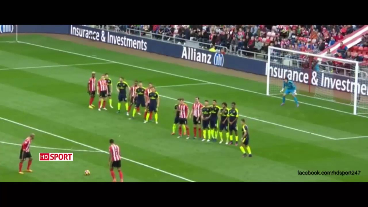 Download Sunderland vs Arsenal 1-4 Extended Highlights HD ~ EPL 29/10/2016